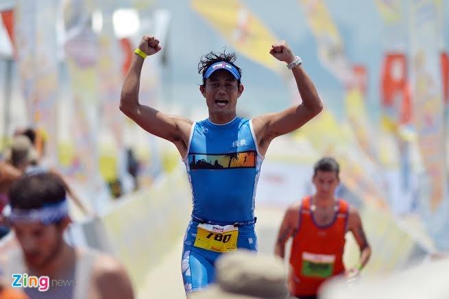 Ironman 70.3 Viet Nam - cuoc thi thu thach the luc cua VDV hinh anh 44