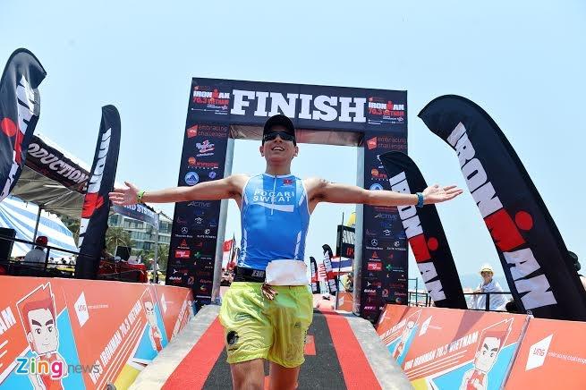 Ironman 70.3 Viet Nam - cuoc thi thu thach the luc cua VDV hinh anh 45