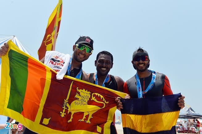 Ironman 70.3 Viet Nam - cuoc thi thu thach the luc cua VDV hinh anh 46