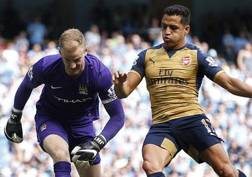 Arsenal hoa Man City 2-2, giup MU rong cua lot top 4 hinh anh