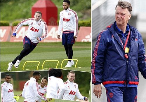 Van Gaal lo mat viec khi MU chuan bi cho chung ket cup FA hinh anh
