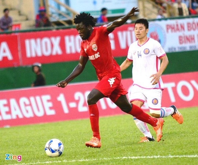 Thanh Hoa vs Hai Phong (0-1): Vo dich luot di truoc 2 vong hinh anh 9