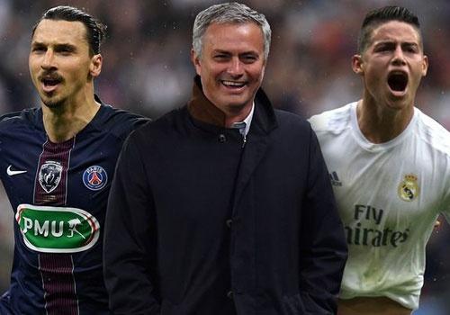 Nhung ngoi sao co the theo Mourinho den MU hinh anh