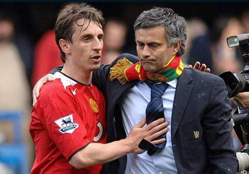Jose Mourinho moi Gary Neville lam tro ly hinh anh