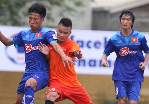 DT Viet Nam vs U19 Viet Nam (0-0): Tran dau gay that vong hinh anh