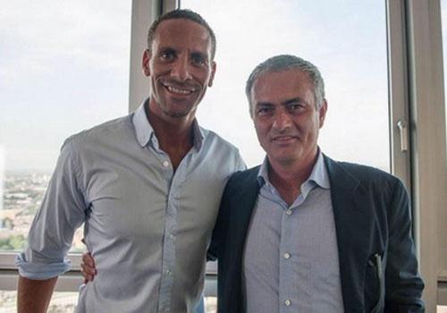 Mourinho moi Rio Ferdinand lam tro ly hinh anh