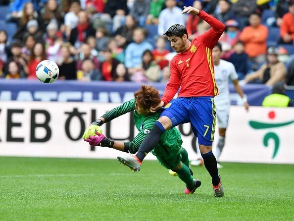 DT Tay Ban Nha vs DT Han Quoc (6-1): Chien thang dep mat hinh anh 7