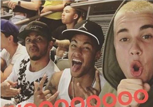 Brazil vs Ecuador (0-0): Neymar va Bieber lam nong khan dai hinh anh