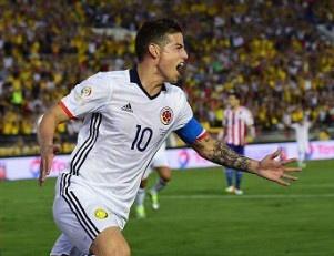 Colombia vs Paraguay (2-1): James Rodriguez toa sang ruc ro hinh anh