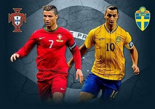 Ronaldo vs Ibrahimovic: Ai la chan sut vi dai nhat Euro? hinh anh
