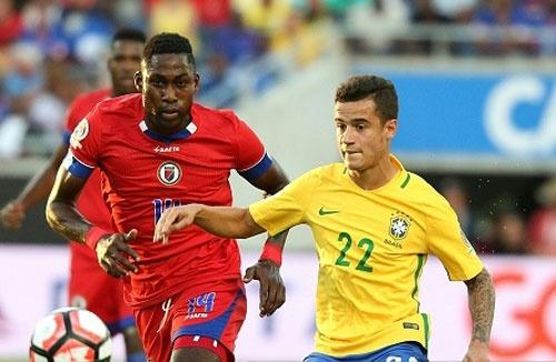 Brazil vs Haiti (7-1): Coutinho lap hat-trick hinh anh 13