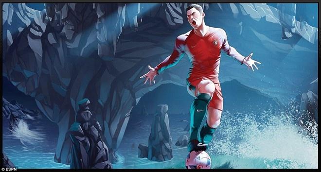 Bo Dao Nha vs Iceland (1-1): Ronaldo gay that vong hinh anh 4
