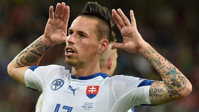 Nga vs Slovakia (1-2): Hamsik kien tao va ghi ban dep mat hinh anh
