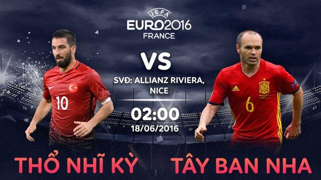 Tay Ban Nha vs Tho Nhi Ky: Kho can nha vua hinh anh