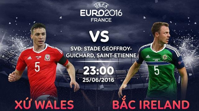 Xu Wales vs Bac Ireland: Suc manh Rong lua hinh anh