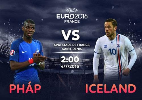 Phap vs Iceland: Chuyen co tich o Euro 2016 hinh anh