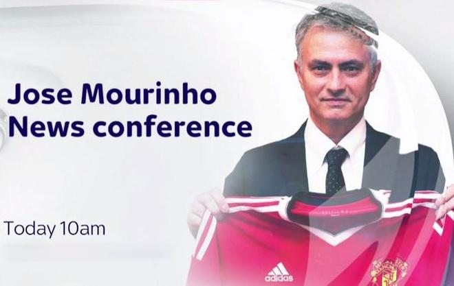 Jose Mourinho hop bao o MU anh 2