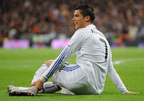 Tien su chan thuong cua Ronaldo khi khoac ao Real hinh anh