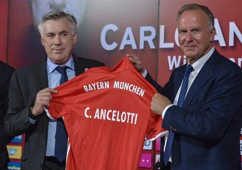 Ancelotti ra mat Bayern va muon thang Guardiola hinh anh