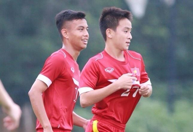 Tran U16 Campuchia vs U16 Viet Nam anh 1
