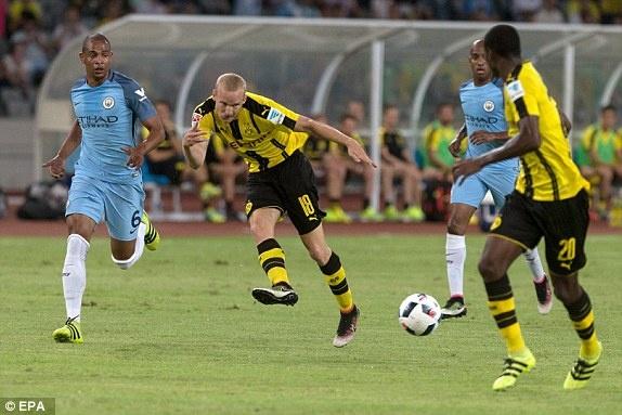 Man City danh bai Dortmund sau loat sut luan luu hinh anh 10