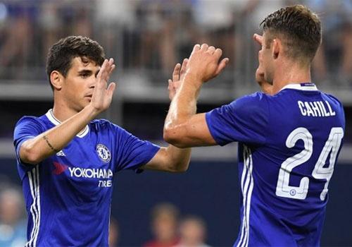 Chelsea vs AC Milan (3-1): Oscar lap cu dup ban thang hinh anh