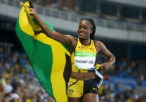 Elaine Thompson - nu hoang dien kinh moi tai Olympic hinh anh