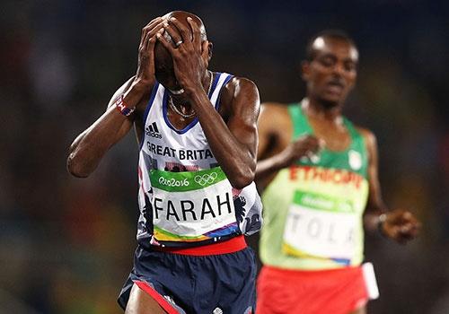 Farah xuat sac bao ve HCV Olympic chay 10.000 m hinh anh