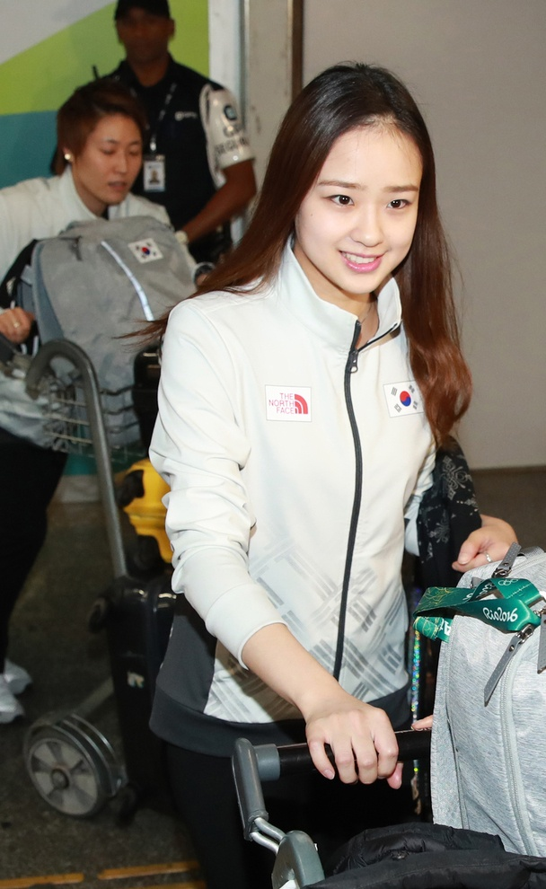 Ve dep cua nu VDV Han Quoc o Olympic 2016 hinh anh 3