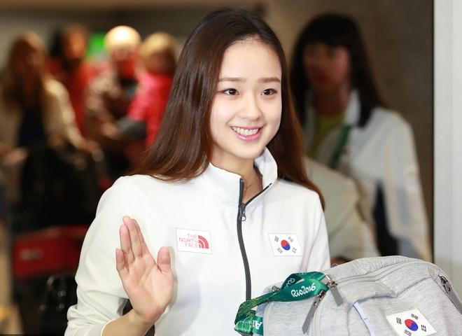 Ve dep cua nu VDV Han Quoc o Olympic 2016 hinh anh 2