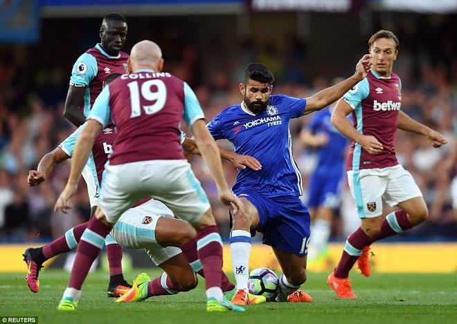 Costa ghi ban, HLV Conte ra mat thanh cong o Premier League hinh anh 7