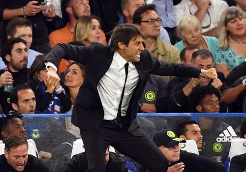 Costa ghi ban, HLV Conte ra mat thanh cong o Premier League hinh anh