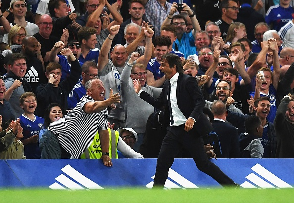 HLV Conte mat ngu sau tran thang kich tinh cua Chelsea hinh anh 1