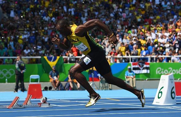 Usain Bolt vao chung ket 200 m anh 2
