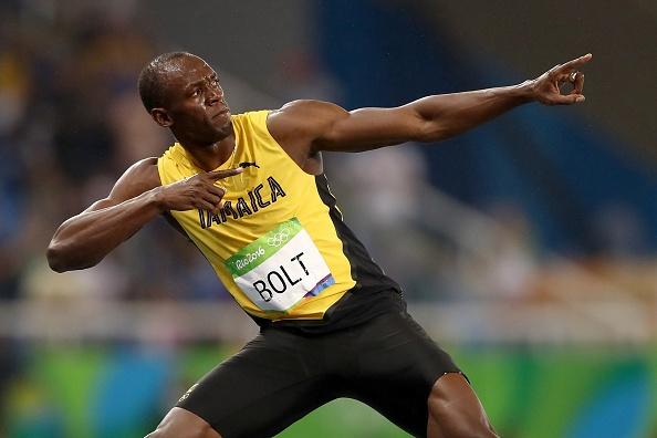 Usain Bolt thi chung ket 200 m anh 1