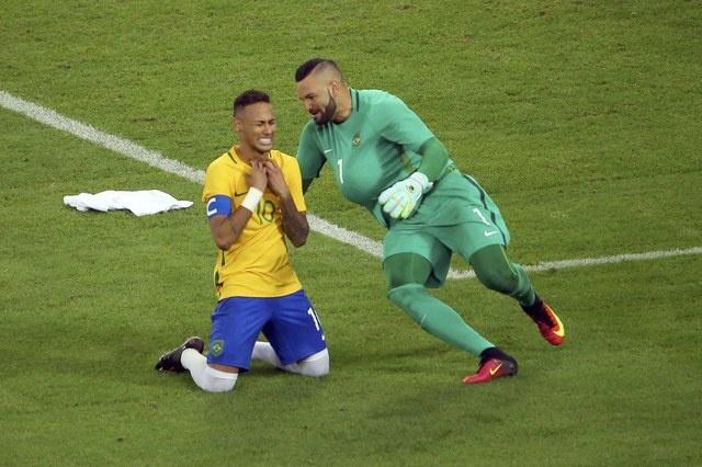 Brazil lan dau gianh HCV Olympic sau loat sut luan luu hinh anh 1