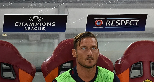 Totti vo mong thi dau o Champions League anh 2