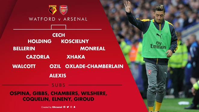Tran Watford vs Arsenal anh 6