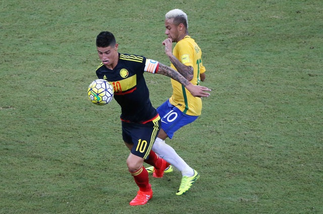 Brazil vs Colombia (2-1): Neymar hay nhat tran hinh anh 12