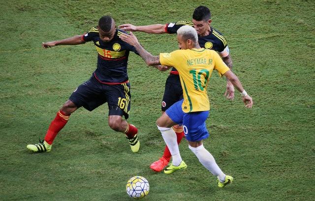 Brazil vs Colombia (2-1): Neymar hay nhat tran hinh anh 13