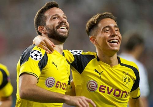 Dortmund thang 6-0, xep tren Real o Champions League hinh anh