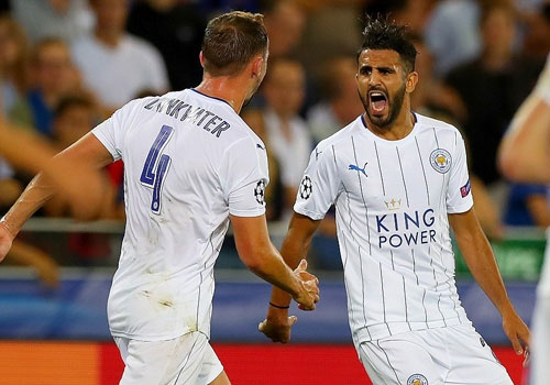 Leicester thang 3-0, dan dau bang o Champions League hinh anh