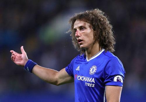 David Luiz do mau o tran dau khoac ao Chelsea mua nay hinh anh