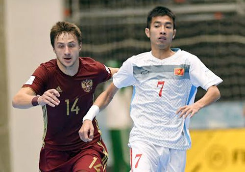 Futsal VN dung buoc o World Cup 2016 sau tran thua 0-7 hinh anh