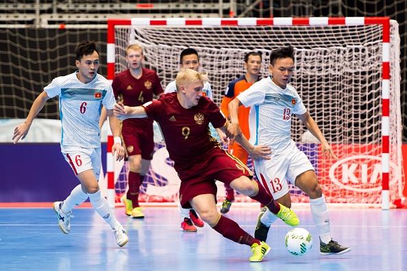 Futsal VN dung buoc o World Cup 2016 sau tran thua 0-7 hinh anh 1