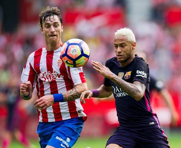 Sporting Gijon 0-5 Barca: Neymar lap cu dup hinh anh 12