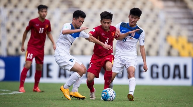 U16 Viet Nam 0-5 U16 Iran: Vo mong giac mo World Cup hinh anh 1