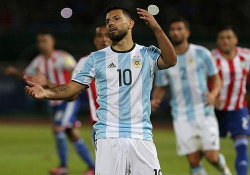 Aguero sut hong 11 m, Argentina thua Paraguay 0-1 hinh anh