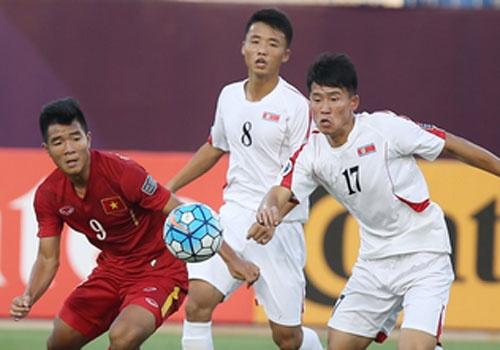 U19 VN 2-1 U19 Trieu Tien: Duc Chinh, Van Hau ghi ban dep hinh anh