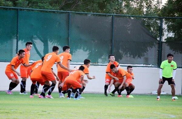 Tran U19 VN vs U19 CHDCND Trieu Tien anh 5